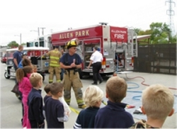 Open House - Firefighter Hose Demostration